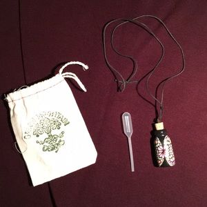 Potion bottle necklace